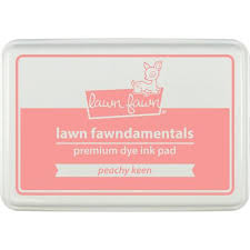 Lawn Fawn  LF Peachy keen- ink pad