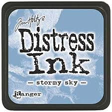 Ranger Distress Ink - Stormy Sky Mini