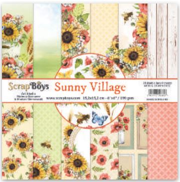 ScrapBoys - SUVI-08 12 x12 Paper Pack (Sunny Village)