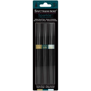Spectrum Noir Sparkle Pens 3pc Set - Vintage Beach