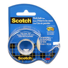 Scotch - Removable wall Tape