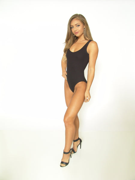 TeeZees Bodysuit in Black