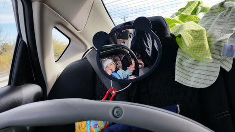 Roadtrip Essentials -carseat mirror Adventure Baby Gear