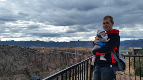Colorado Roadtrip with a Baby - Royal Gorge