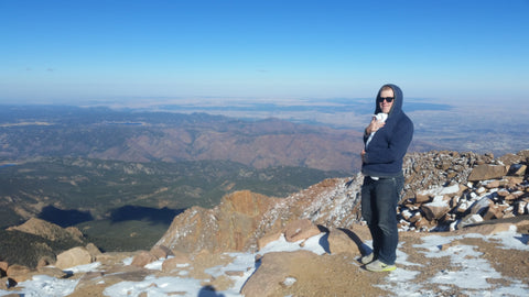 Colorado Roadtrip with a Baby- Pikes Peak