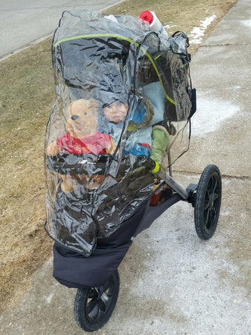 Winter stroller all weather cover