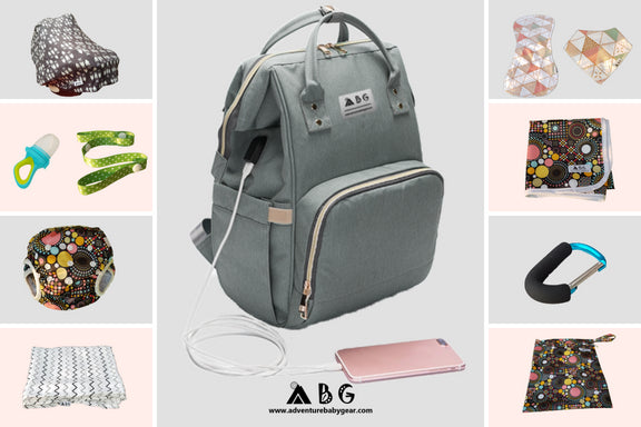 ABG Ultimate Baby Backpack Bundle