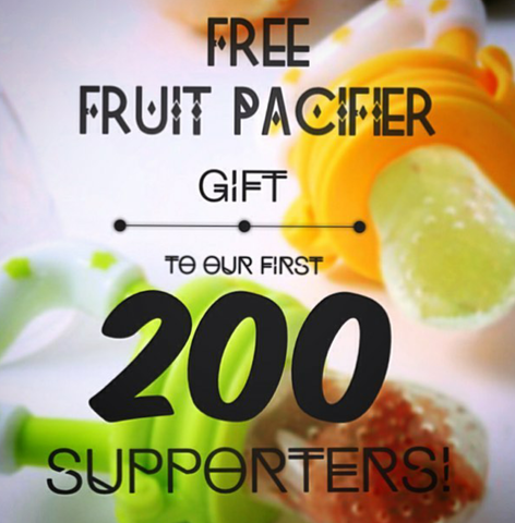 Free Fresh Fruit Pacifier