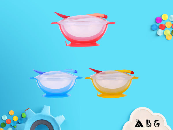 Temperature Sensing Spoon & Bowl Set - Adventure Baby Gear