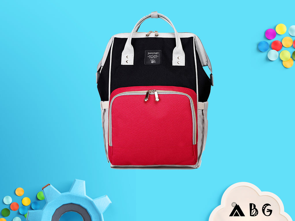 Dual Toned Diaper Backpack - Adventure Baby Gear