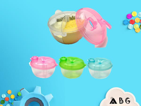Tri-Compartment Formula Dispenser - Adventure Baby Gear