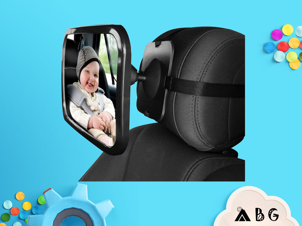 Back Seat Mirror - Adventure Baby Gear