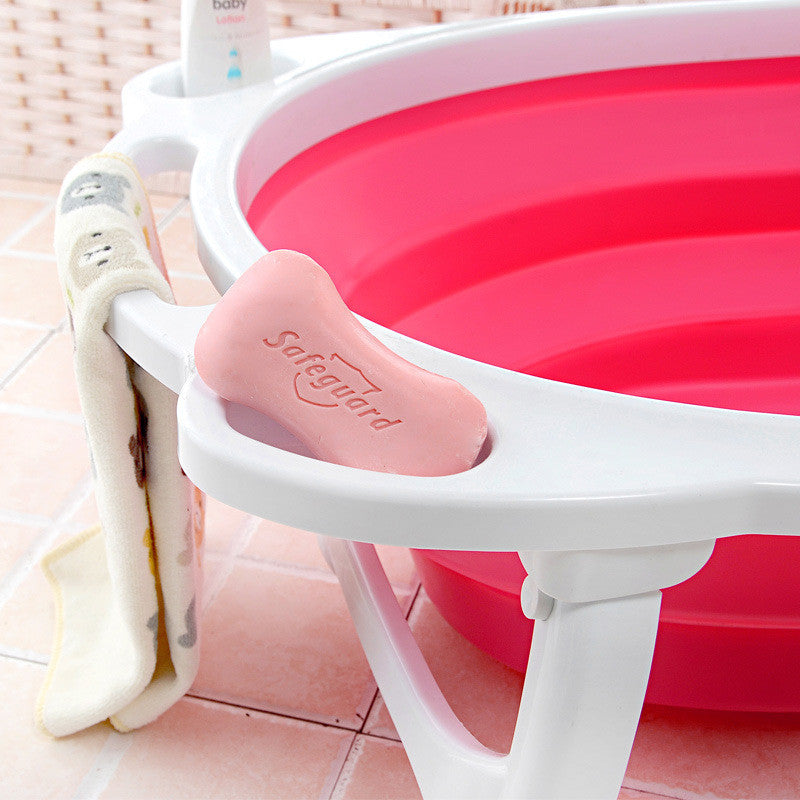 Portable Folding Baby Bath Tub - Adventure Baby Gear