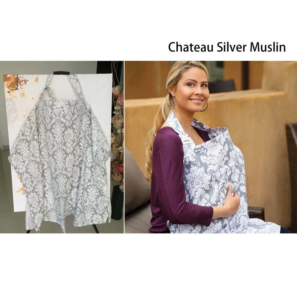 Large Muslin/Cotton Nursing Cover - Adventure Baby Gear