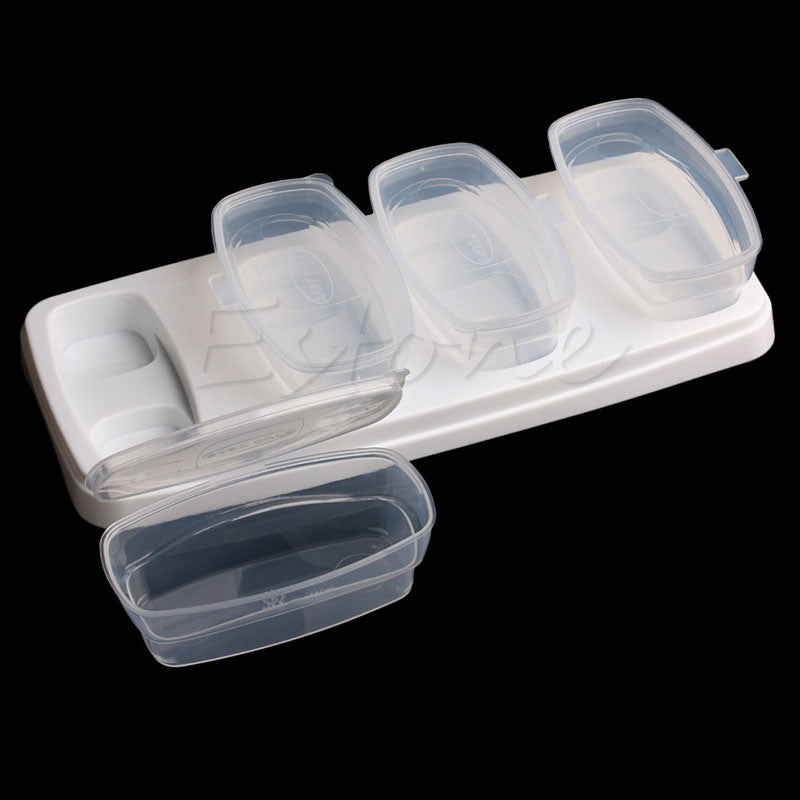 8 Pcs Baby Food Storage Container Set - Adventure Baby Gear