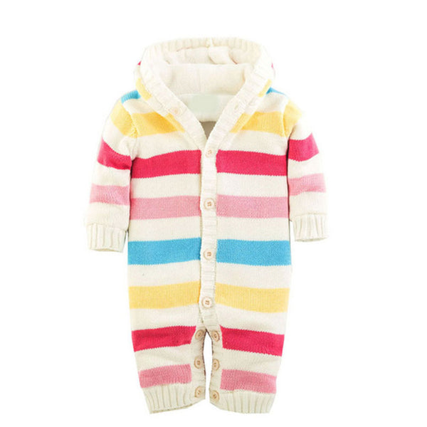 Knitted Fleece Lined Jumpsuit - Adventure Baby Gear