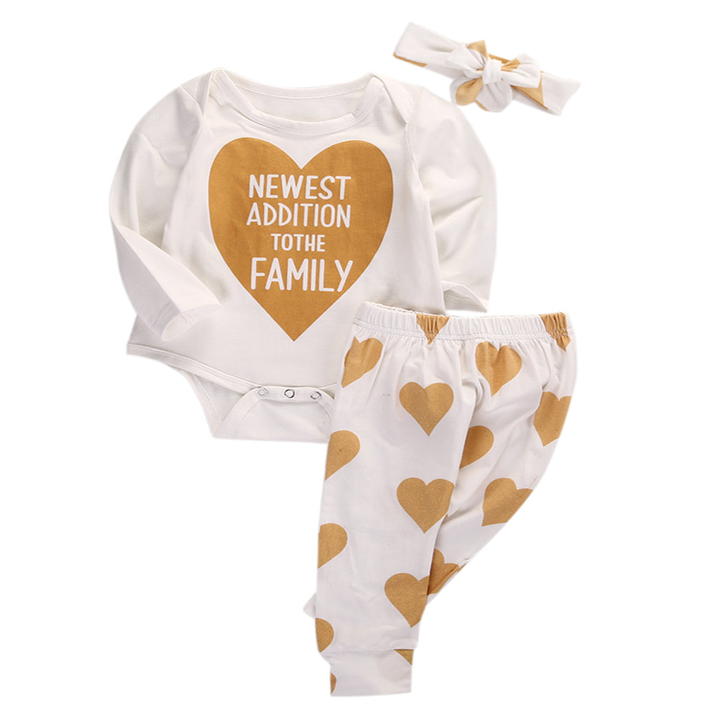 Golden Newest Addition 3 PC Set - Adventure Baby Gear