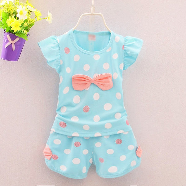 Pastel Polka Dot Set - Adventure Baby Gear