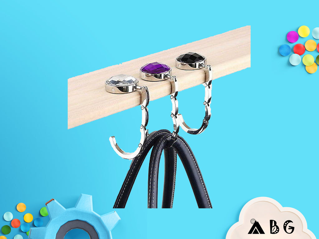 Tabletop Hanging Bag Hook [gone - Adventure Baby Gear