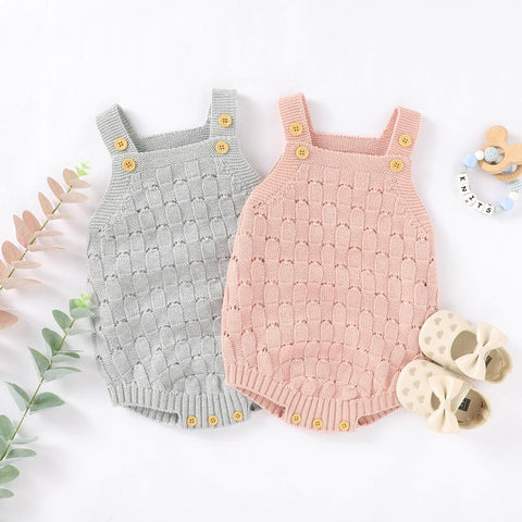 Avery Knitted Onsie (ASSORTED COLORS)
