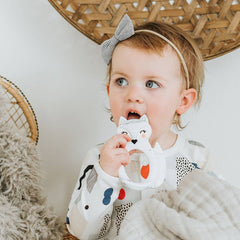 Silicone Teether - Fox