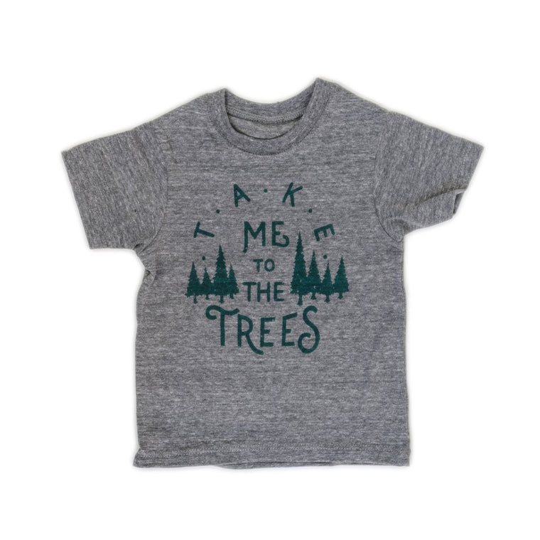 Toddler Trees Tee - Grey