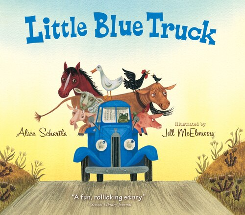 Little Blue Truck Book