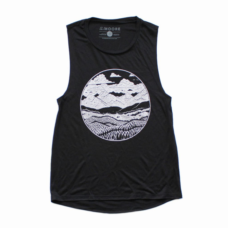 Mountain Range Muscle Tank