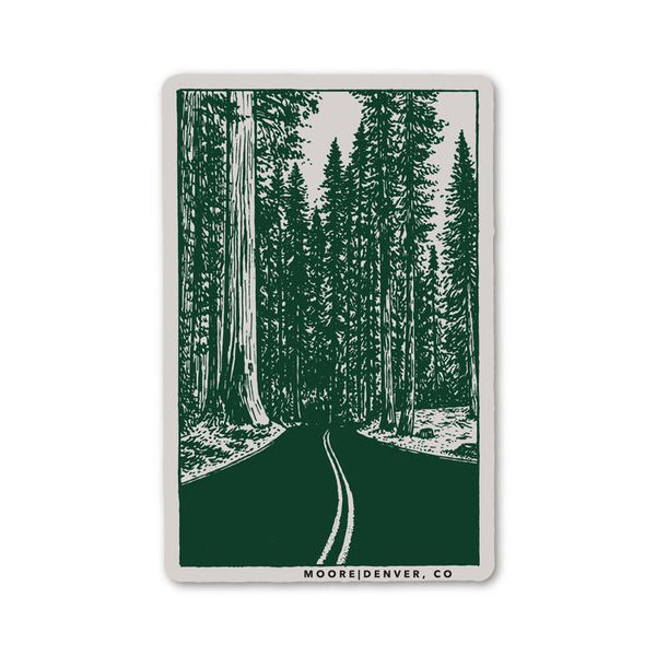 122 Redwoods Sticker