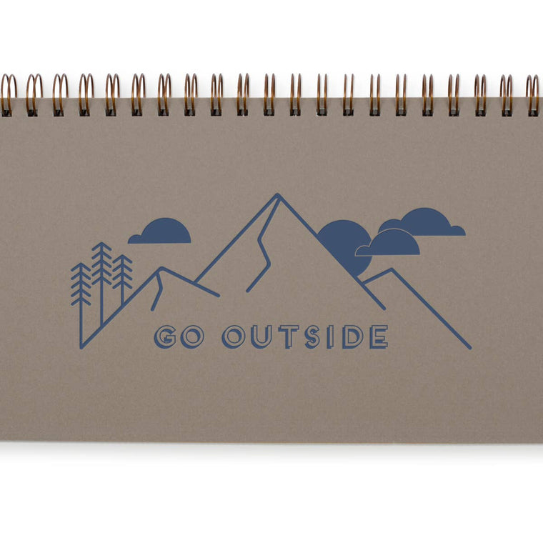 Go Outside Weekly Planner