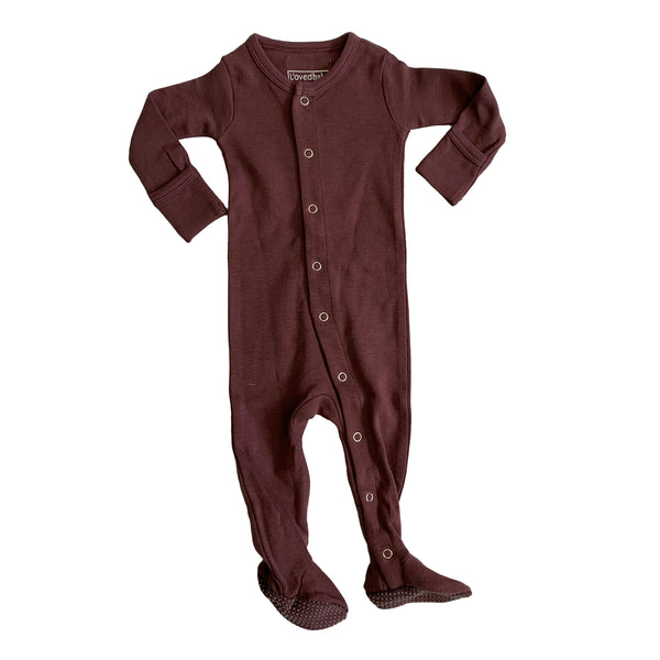 Organic Footed Onesie