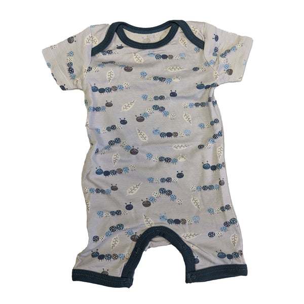 Short Coverall Romper - Caterpillar