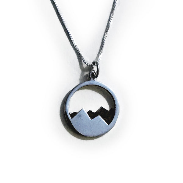 Donovan Grey Mountain Necklace