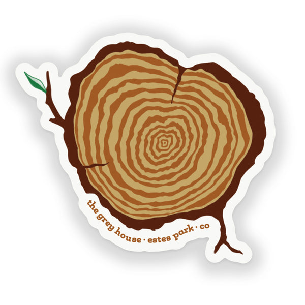 112 Stump Sticker
