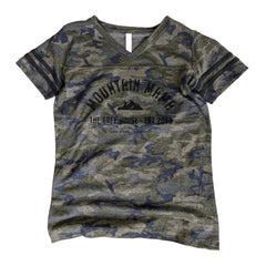Mountain Mama Football Tee