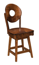 "Bridgeport 24"" Swivel Bar Stool"