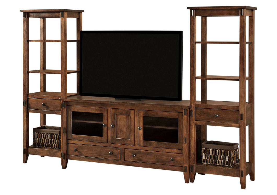 Bungalow Tv Stand Wside Towers Charlestonamishfurniture