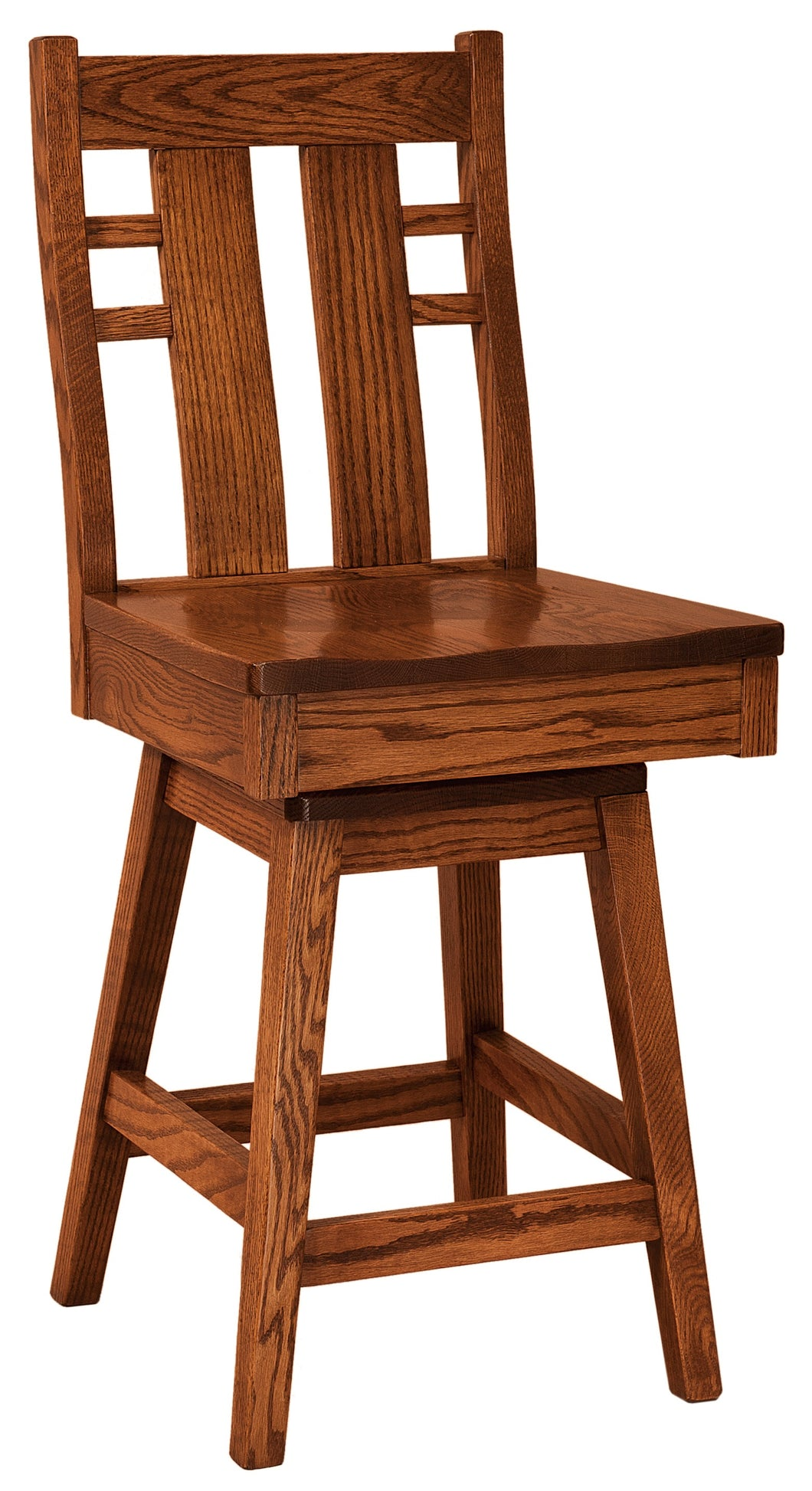 Cascade 24 Swivel Bar Stool Charlestonamishfurniture