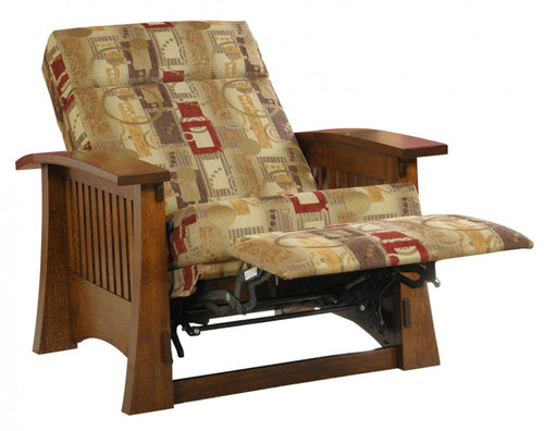Craftsman Mission Recliner Wall Hugger