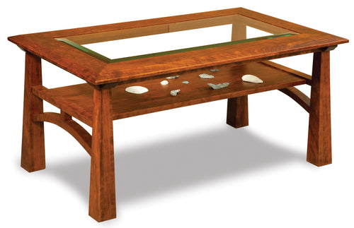Artesa Glass Top Coffee Table