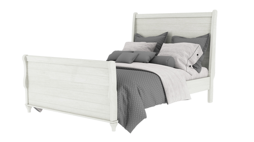 Alcan Sleigh Bed