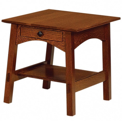 McCoy Wedge End Table