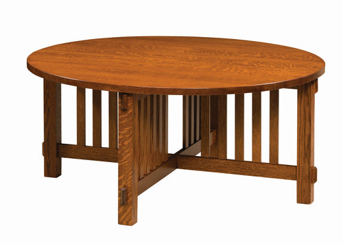 Rio Mission Round Coffee Table