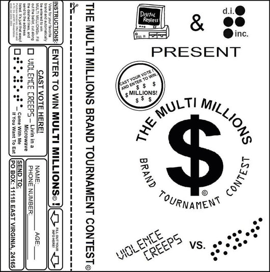 Violence Creeps/ Toyota-  The Multi Millions Brand Tournament Contest Tape Product