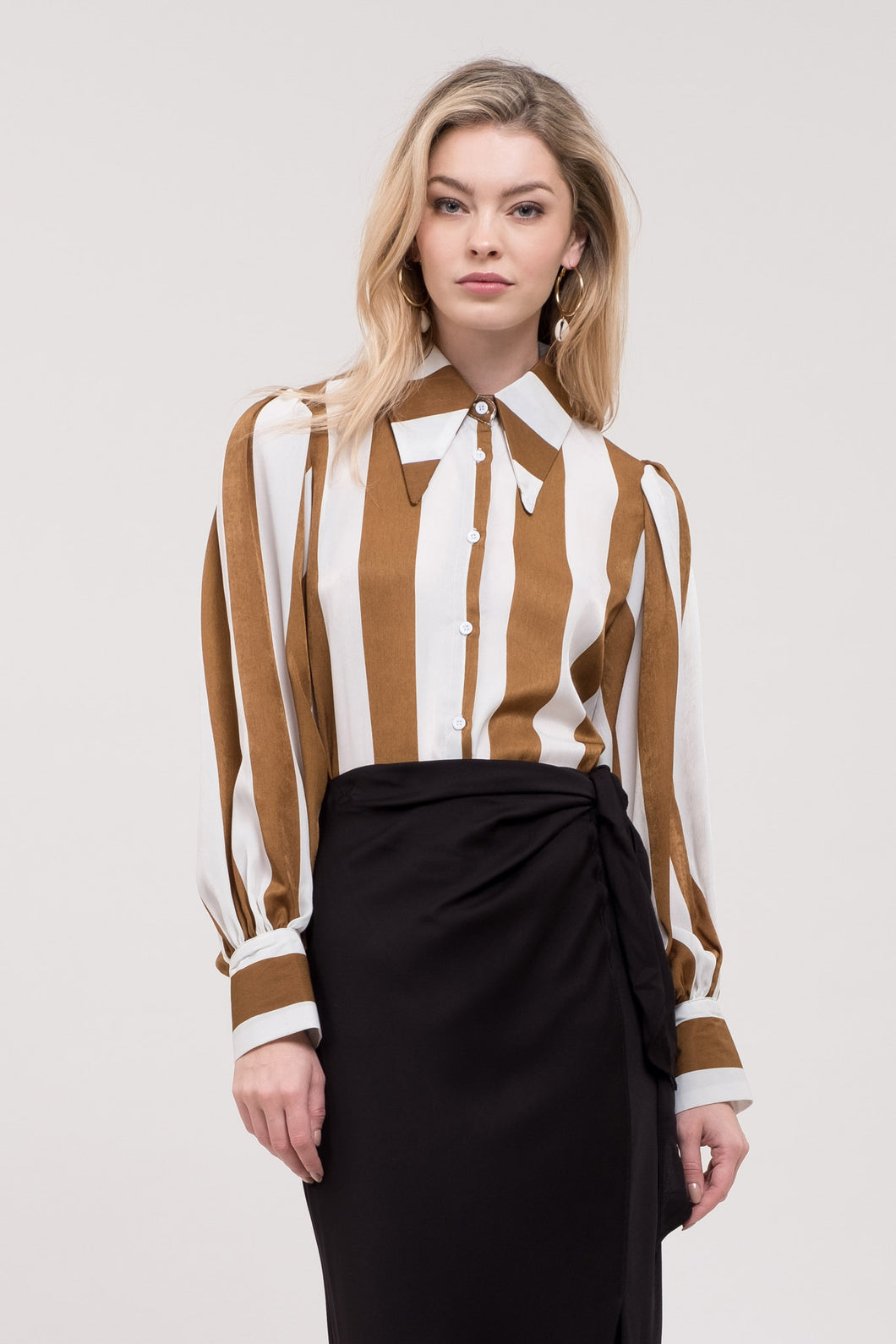 Darcy Bold Striped Blouse