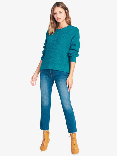 Sorry Not Sorry Sweater in Apatite