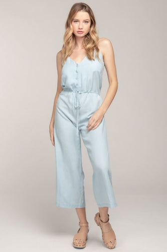 Faye Chambray Jumpsuit