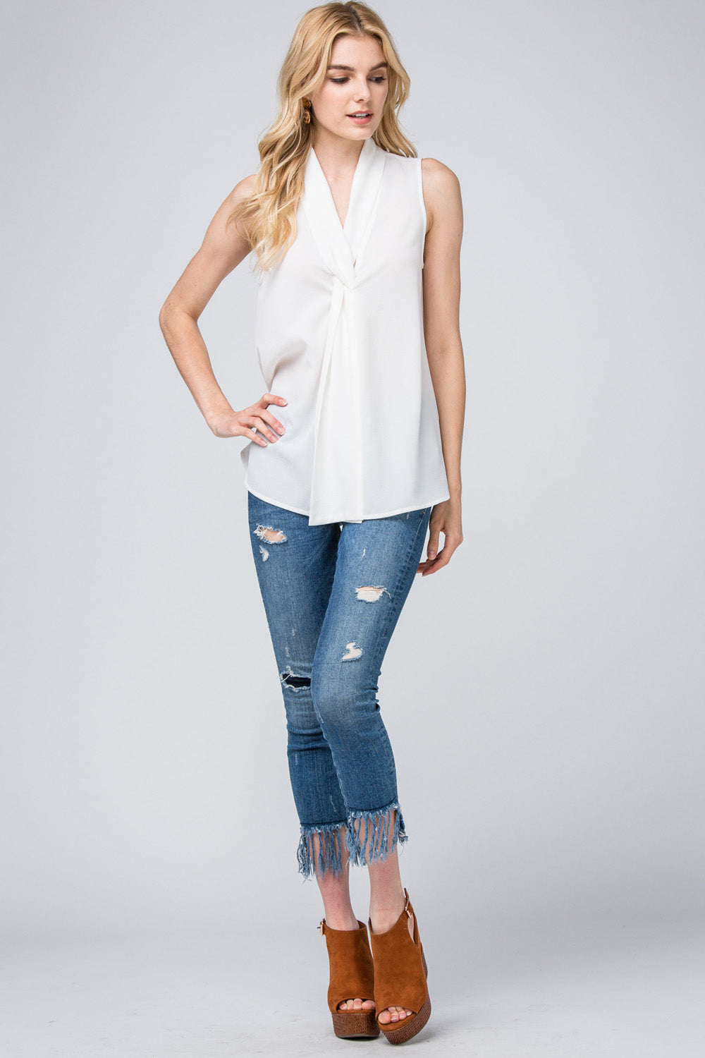 Melissa All Day Long White Top