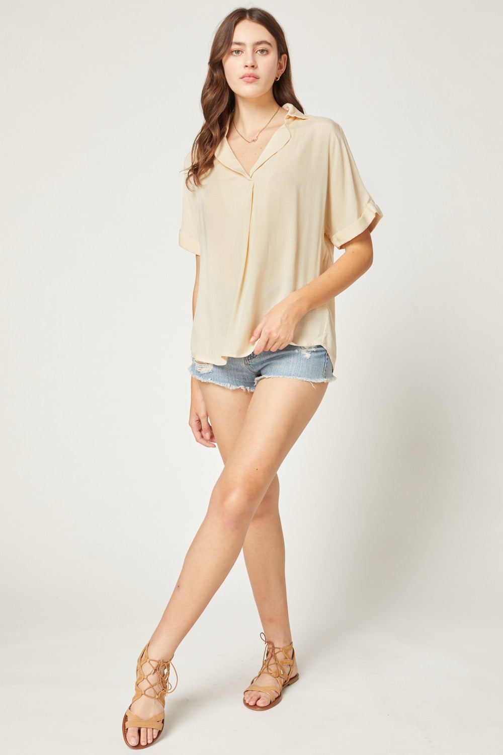Caitlin Easy Fit Top