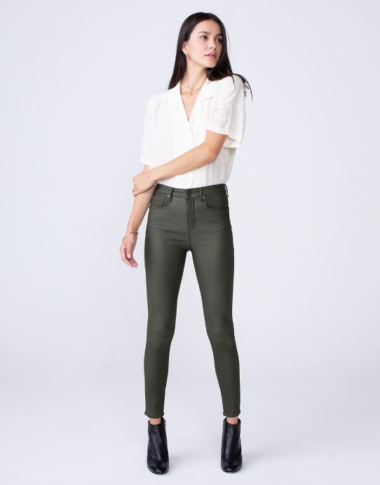 Olivia High Rise Skinny Jean in Gunner